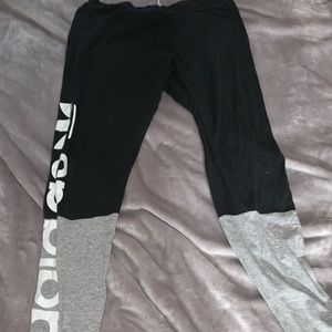 Two tone adidas legging